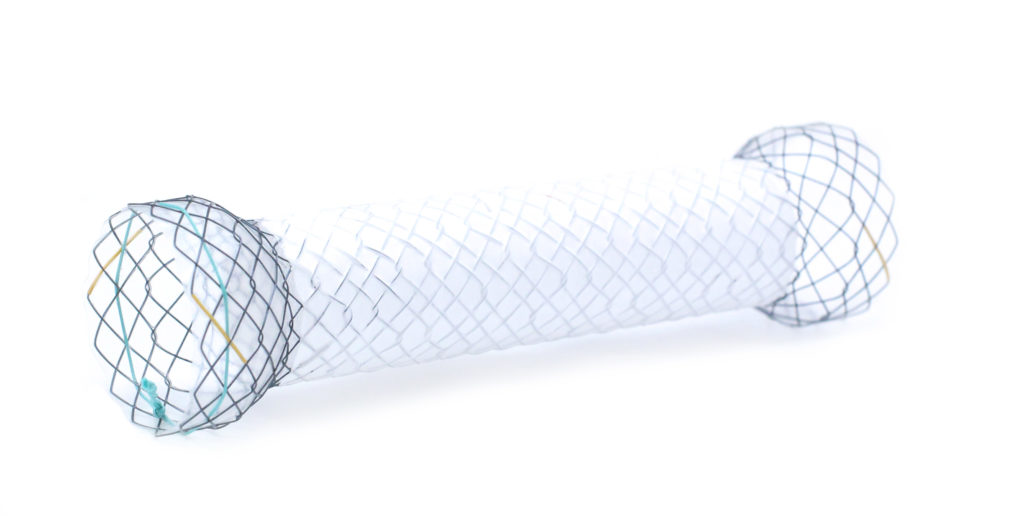 Hilzo Covered Pyloric/Colonic Stent